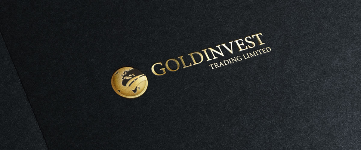 studio del logo e del brand per agenzia di trading goldinvest