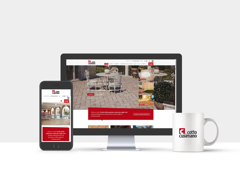 E commerce e sito web istituzionale per produttore di for Sito web di progettazione di pavimenti