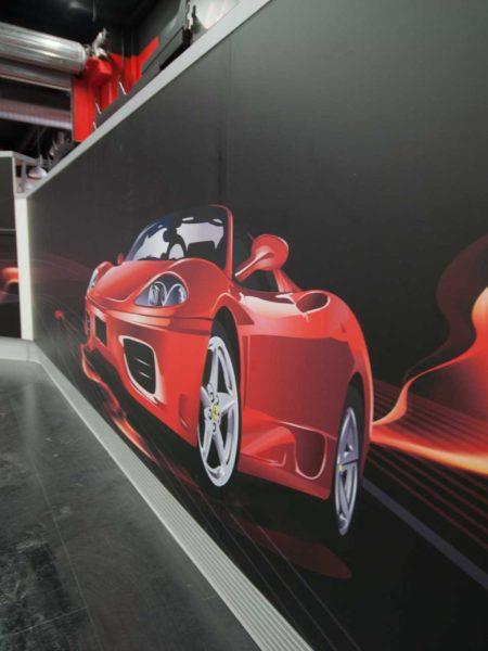 3d rendering interior design negozio